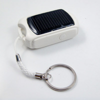 Key Chain Mini Solar Power Bank Solar Charger For Mobile Phone