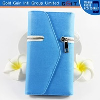 PU Wallet Leather Case for Samsung for Galaxy S5 G900F