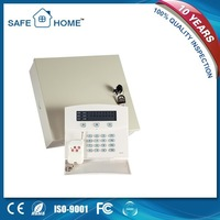 100% brand new metal box gsm+pstn dual network burglar alarm system for home security