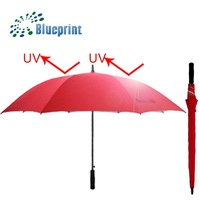 SPF UV Large Straight Golf 60 Umbrella Outside Party Activities Accessories