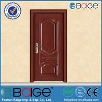 BG-SW635 decorative steel doors/solid core steel door/steel security door