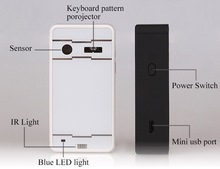 New arrival ! BB-JGK99 laser virtual bluetooth keyboard lifeproof for ipad mini case with mouse and speaker function