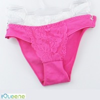 Embroidered breathable Seamless lady undergarments