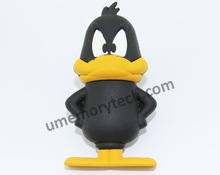 Promotional Top Quality Cheap daffy duck usb pen drive,OEM animal usb flash memory stick
