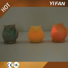 Top Selling LED Small Owl Candle