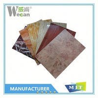 2015 Aluwecan building facade aluminium composite panel for kitchen cabinets decorative panel