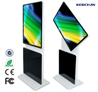 42inch rotate led digital table clock display