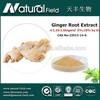 Good reliable supplier Best Supplier you can trust 1% gingerols yellow ginger extract