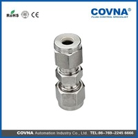 plastic tube compression fitting union connector