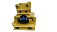 hydraulic vibrating plate compactor for excavator