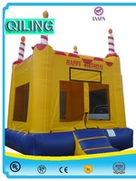 china cheap wholesale commercial princess themed inflatable bounce houses for kids
