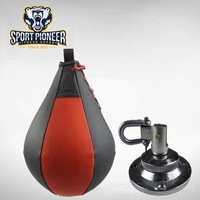 Boxing Two color inflatable Speedbag with Swivel Hook
