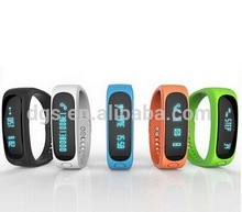 Activity Silicone Bluetooth 4.0 LED Promotional Calorie Counter Tracking Pedometer Sleep Monitoring wrist Bracelet