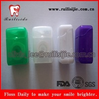 High stretch dacron/nylon/PTFE/UHMWPE yarn wax dental floss