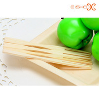 2015 new arrival fancy disposable bamboo fruit fork