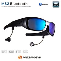 Portable Camera Eyewear With 5.0MP Hidden Video Recorder and Wireless Bluetooth For High Quality Video Recording