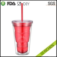 Excellent quality new coming basketball plastic cup with straw