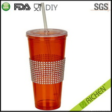 Excellent quality Cheapest plastic tumbler with stainless steel
