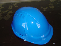 CE & ANSI blue vented cap style safety Helmet