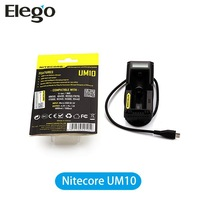 Original Nitecore UM10 Battery Charger Fit For 18350/18500/18650 Battery