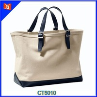 High Quality Signature Plain Lady Cotton Supermarket Shopping Bag