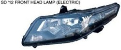 For honda city 2012 headlamp/tail rear light/fog lamp framework