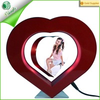 heart shape magnetic levitation open hot girl photo sexy women japan nude girl picture frame