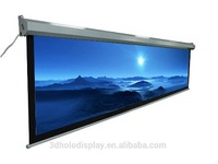200 Motorized Projector Screen/PVC Matt White Projection Screen Fabric /Large Electric Screen