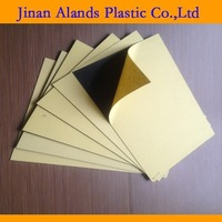 2014 transparent pvc rigid sheets black