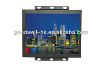 "AV/S-Video/VGA Input 4:3 15"" Open Frame with Metal Frame"