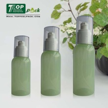 80ml 100ml 120ml Clear Plastic PET Bottle with Pump Spray for Skin Care
