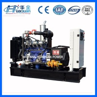 green power biogas electric generator 10-500kw with low fuel consumption