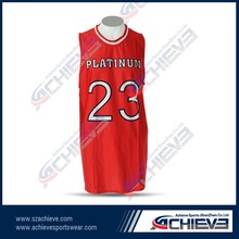 polyester tight fit man red color basketball jersey fully printing sublimation basketball jerseys