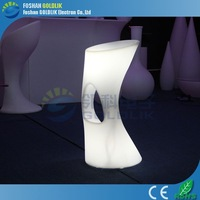 High quality sex PE LED waterproof rechargeable stool GKL-081WA