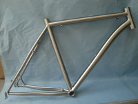 Newest and hot Chinese 29er titanium mountain bike frame