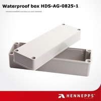 China supplier ip68 waterproof plastic hinged junction box