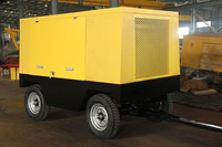 110 KW QKCY 12/10 Portable screw diesel mobile compressors