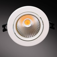 beam angle adjustable 18w dimmable cob led spotlight