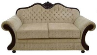 antique french style wooden sofa set designs avaliable SF4058
