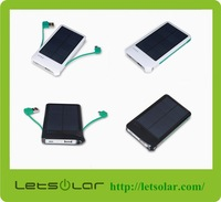 Portable solar panel charger with solar cell,Solar Power Bank with 4000mah battery,solar charger for mobile phone