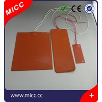 MICC 100x100mm 12V Silicone Rubber Heater for 3D Printer Heated Beds