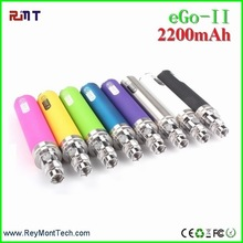 Health product e cigarette battery wholesale 2200mah EGO battery