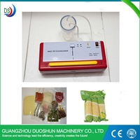 Supermarket use small vacuum packing machine for food