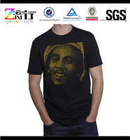 Print t-shirt sexy el t-shirt for men/women brushed cotton t-shirts