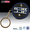 Hand made cheap promotional custom soft rubber pvc keychain 3d