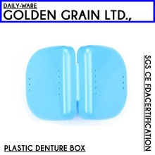 Plastic promotional Denture Boxes/tooth box