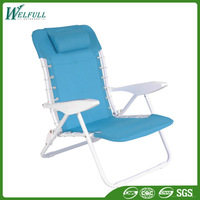 Space Saving Furniture Foldable Metal Chair, Metal Folding Chair Seat Cushions