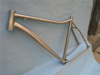 Hard tail mtb frame 29 titanium bicycle with slider dropout WTL580