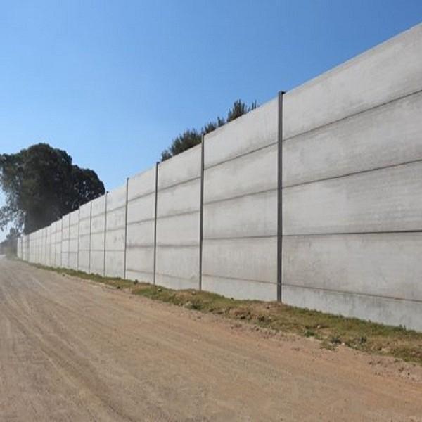 Precast Fence Panels : Cement column concrete fence form moulds