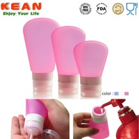 Portable Leak-proof Squeeze Silicone Spa Bottles